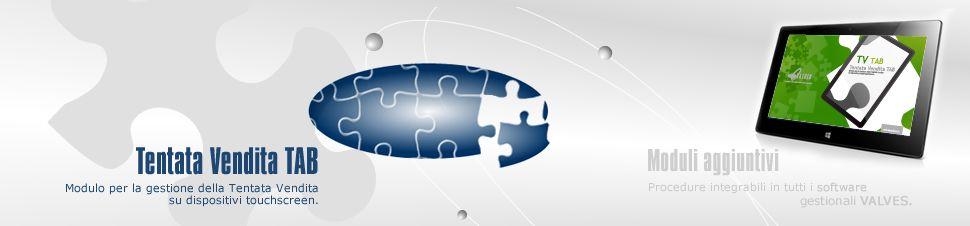 Modulo per la gestione della Tentata Vendita su dispositivi mobile per maggiori info chiama il numero verde 800992060 o vistia il sito valvesonline.it