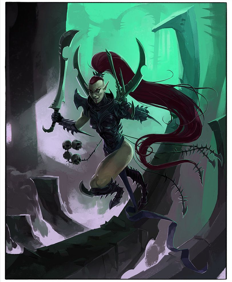 Drukhari Succubus By Troygalluzzi 40k Pinterest Dark Eldar