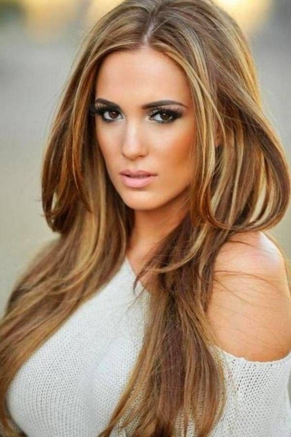 Brown Blonde And Copper Lowlights Google Search Hair Colour