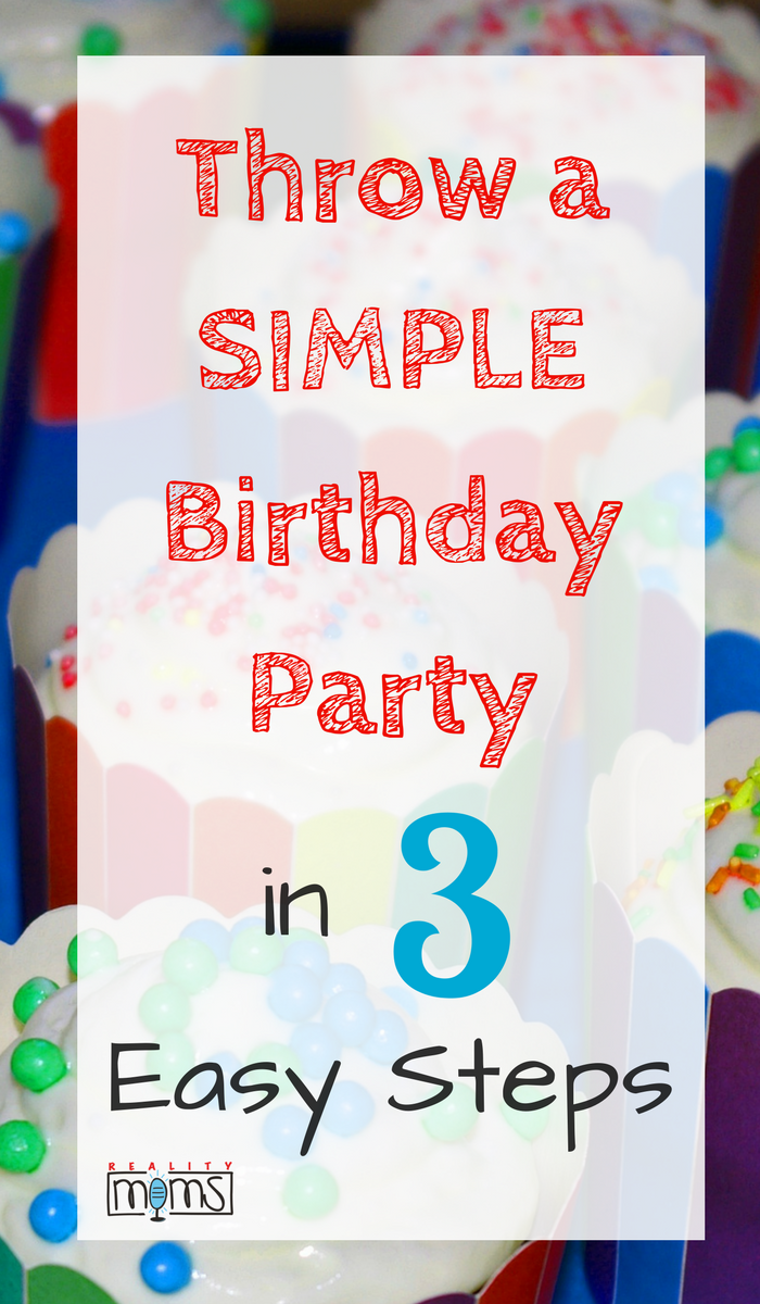 3 Steps to Rock a Simple(ish) Summer Birthday Party   Birthdays ...
