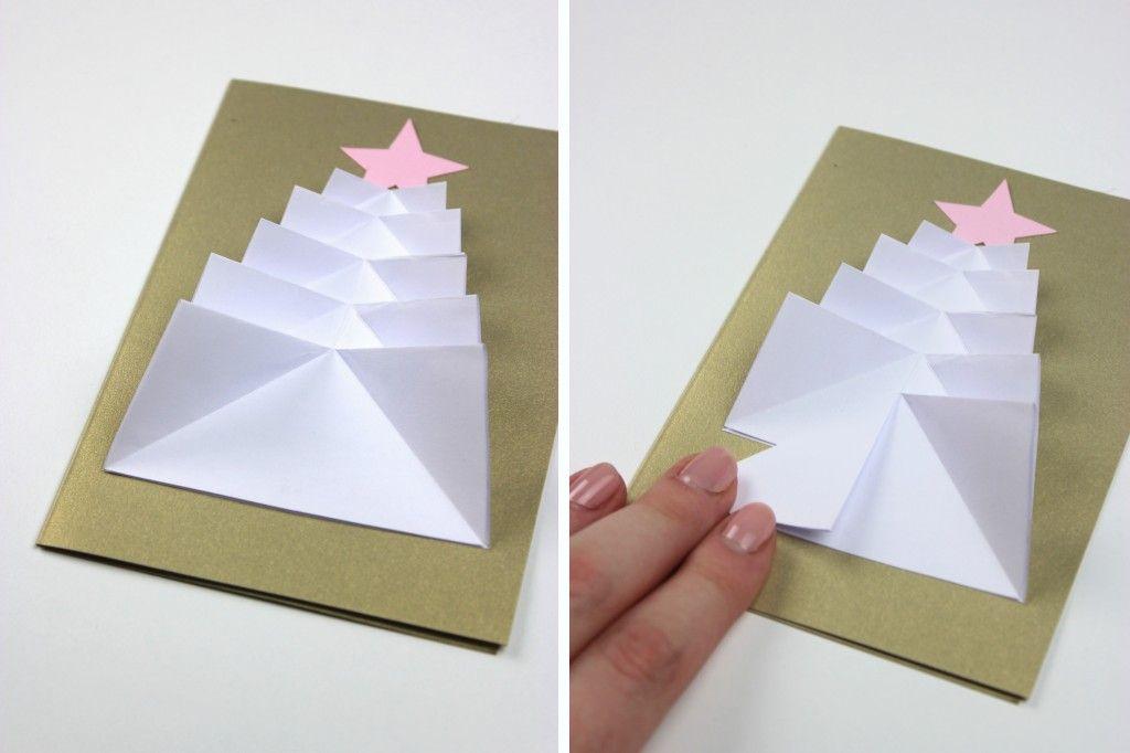 Как из бумаги сделать 3д елку в открытке, танца прикольные картинки