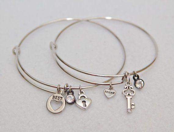 Best Friend Bracelet Friends Jewelry Bff By Harmonyandbliss Bracelets