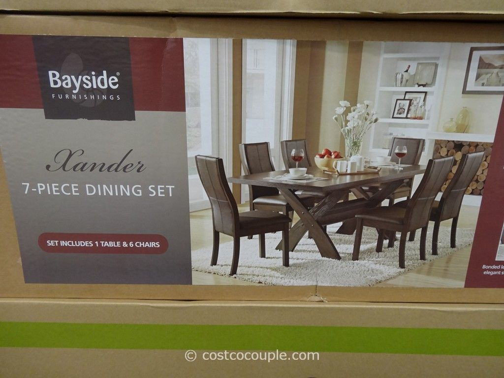 Appealing Bayside Xander 7 Piece Dining Set