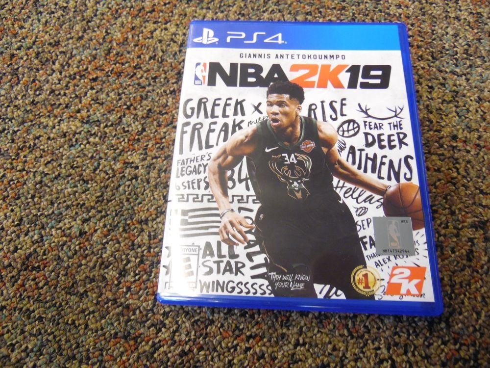 NBA 2K19 PS4 Sony Playstation 4 (New Other) 2019