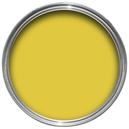 Best Dulux Feature Wall Lemon Punch Matt Emulsion Paint 1 25L Image 1 Dulux Perfectly Taupe Dulux 400 x 300