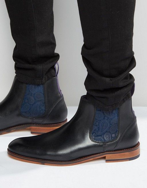Ted Baker | Ted Baker Camroon Leather Chelsea Boots