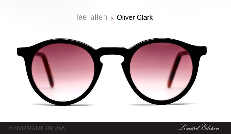 80c19d669658 Lee Allen Eyewear x Oliver Clark NYC collaboration. Limited Edition ...