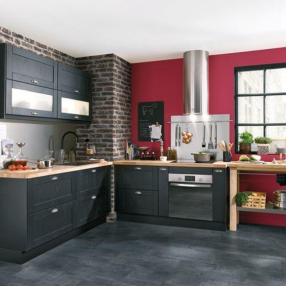 cuisine bistrot 23 id es d co pour un style bistrot chic et cuisine. Black Bedroom Furniture Sets. Home Design Ideas