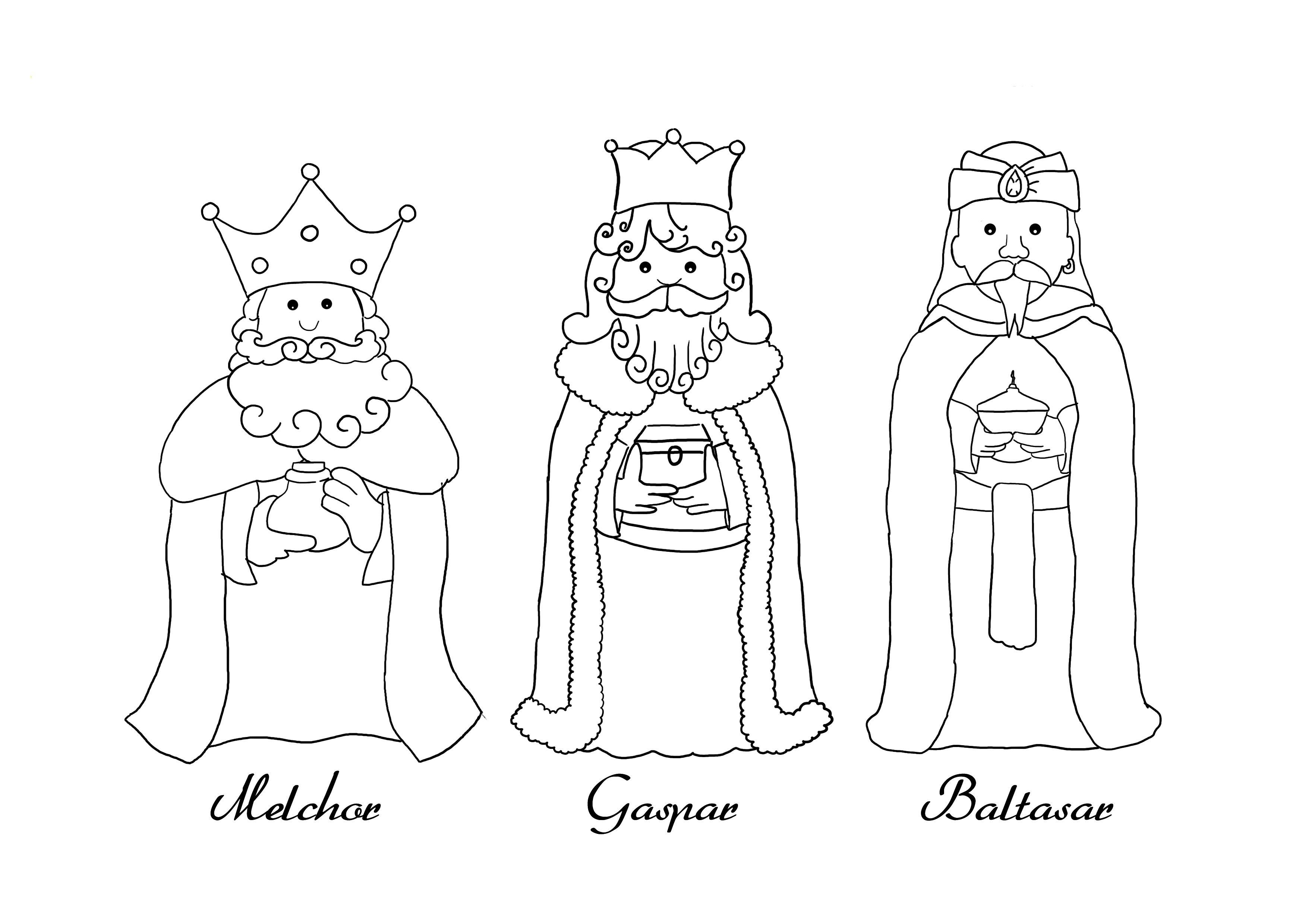 10 Dibujos De Reyes Magos Para Colorear Reyes Magos Dibujos Dibujos De Reyes Silueta Reyes Magos