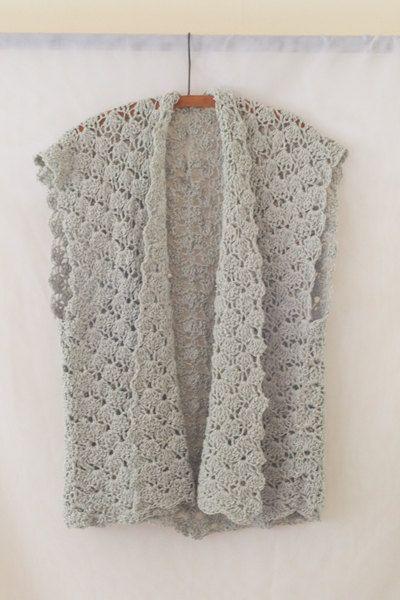 Crochet Pattern Vest Pattern Scarf Pattern Easy Crochet Infinity