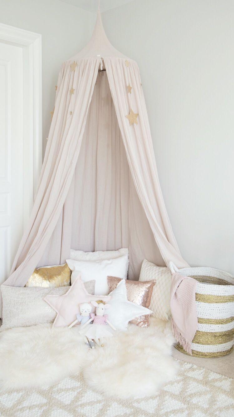 Numero 74 canopy in powder pink | Children\'s Room Inspo ...