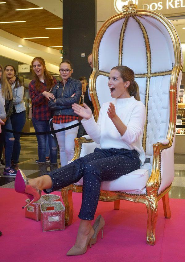 Brilhos da Moda: À procura de um par de sapatos no Espaço Guimarães...