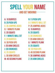 Https Ci4 Googleusercontent Com Proxy Vrt5 Ch2ufaxitlhb1oukfjooikquptqgtq6tzks 44hnh2yttfse Fabrwkl Spell Your Name Workout Quick Workout Workouts For Teens