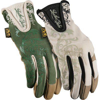Mechanix Wear Womenu0027s Large Leather Garden Gloves