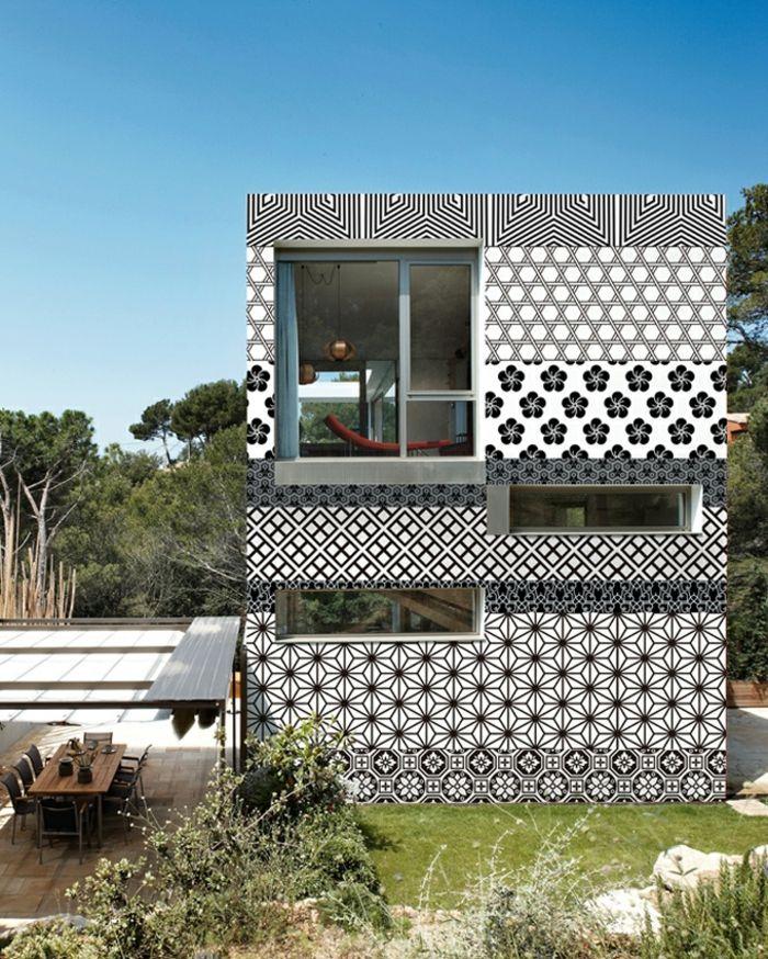 einrichtungsideen tapeten ideen außenfassade gestalten Wohnideen - wohnideen tapeten ideen