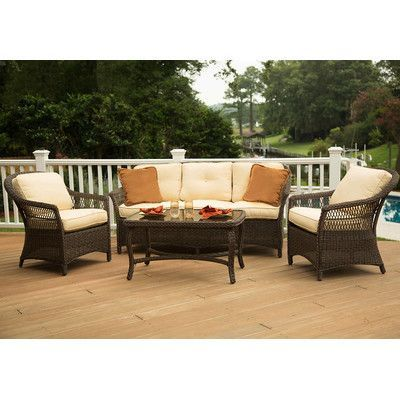 agio charlotte woven deep seating group products pinterest rh pinterest co uk
