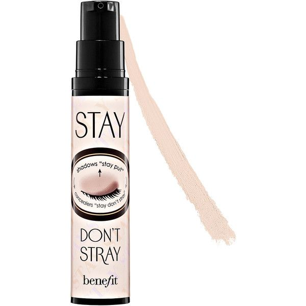 Benefit Cosmetics Stay Don't Stray 360 Degree Stay Put Eyeshadow... ($26) ❤ liked on Polyvore featuring beauty products, makeup, face makeup, makeup primer and primer