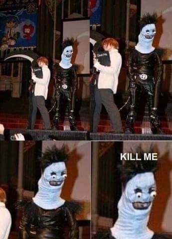 Funny Ryuk Costume Death Note Cosplay Death Note Funny