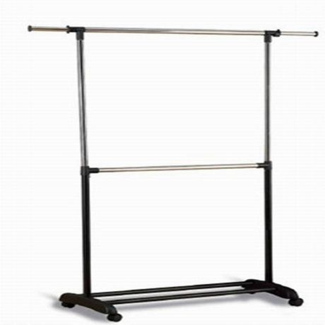 Adjustable Double Rod Garment Rack Walmart Ca Garment Racks
