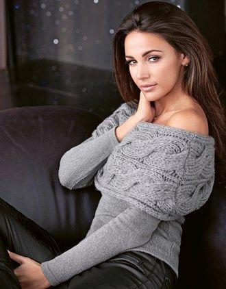 5bd972c9ed1 Lipsy Love Michelle Keegan Bardot Jumper Jumper Knitting Pattern, Knitting  Patterns, Lace Cold Shoulder