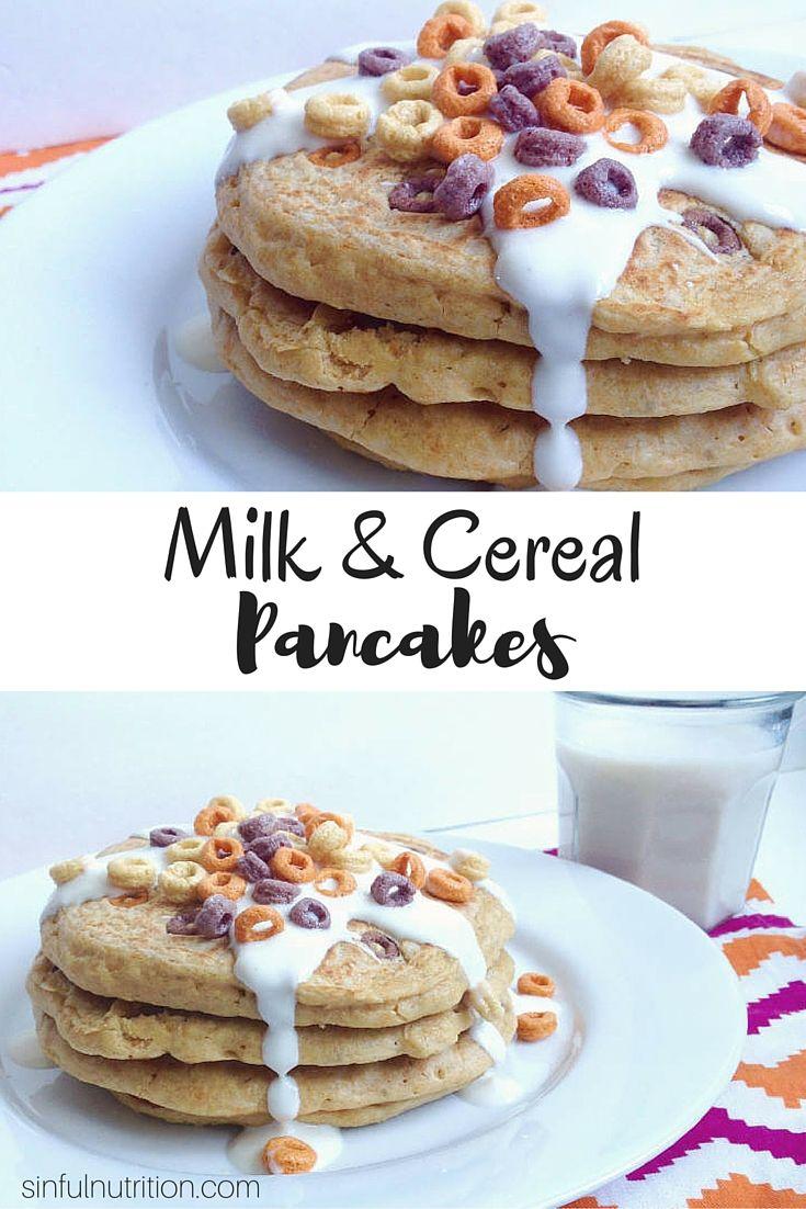 Flourless milk cereal pancakes recipe breakfast pinterest flourless milk cereal pancakes recipe breakfast pinterest cereal pancakes and almond milk ccuart Gallery
