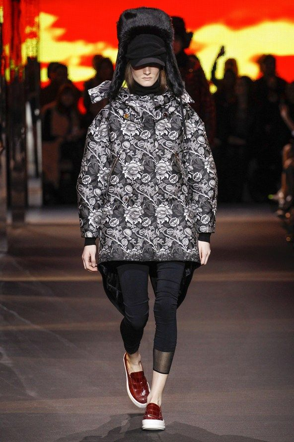 ef1aff2ced Moncler Gamme Rouge Autumn/Winter 2014 Ready-To-Wear | runway gone ...