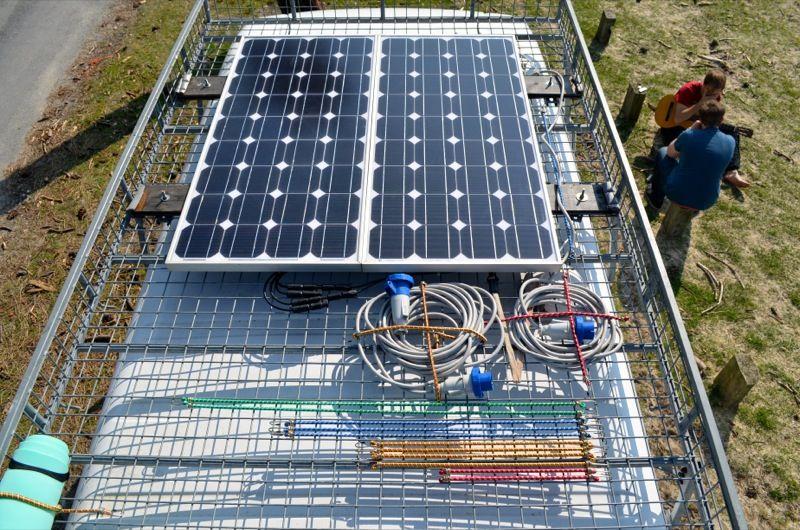 Diy Van Conversion Solar Panels