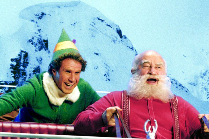 Pin for Later: 10 Movie Santas That You Totally Forgot About Ed Asner, Elf
