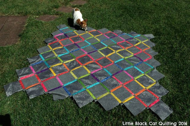 Little Black Cat Quilting: The Quilt With No Name: A Finished Quilt Top