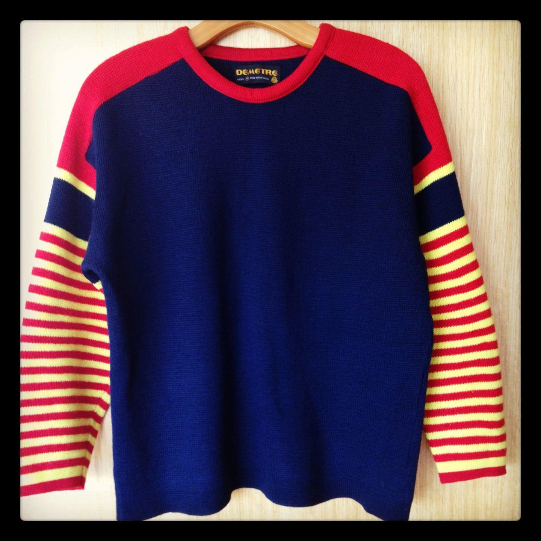 Vintage SKI sweater M8h2r