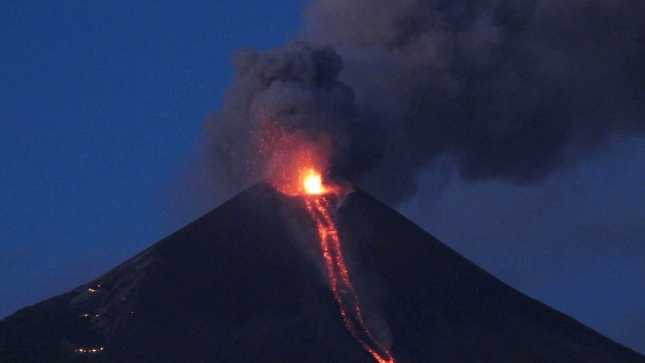 erupcion de cerro