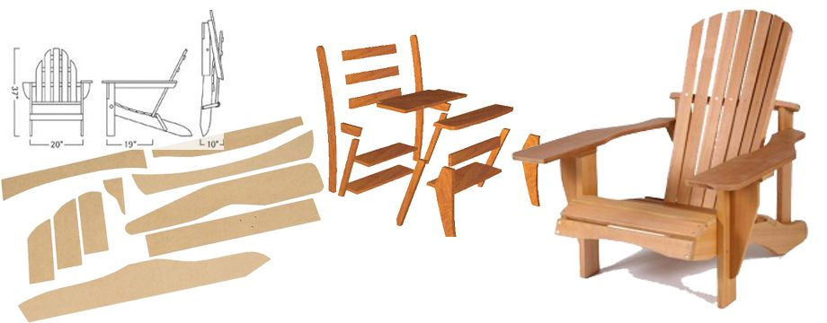 Learn How To Build A New Comfy Outdoor Chair For Summer With These FREE Adirondack  Chair