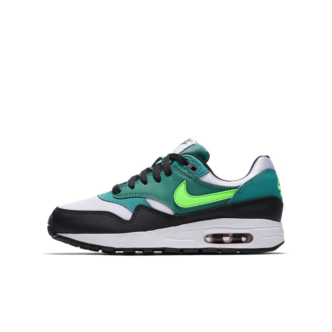 6944e00608 Nike Air Max 1 Big Kids' Shoe Size 6.5Y (White) | Products | Shoes ...