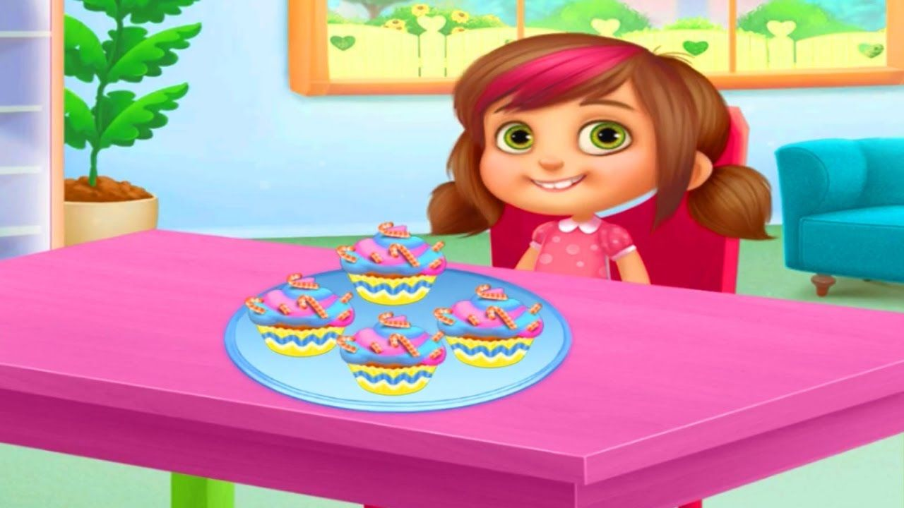 How To Bake Cupcakes For Kids Game Chef Kids Cook Yummy Food