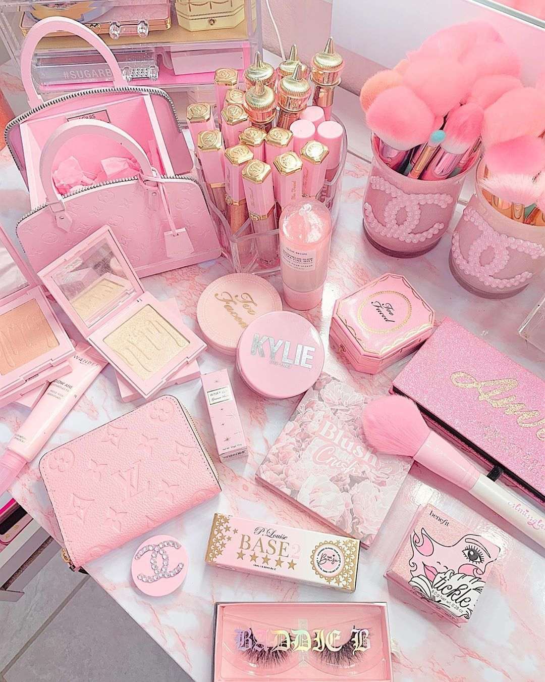 Brushes N Lash In 2020 Baby Pink Aesthetic Pink Girly Things Pastel Pink Aesthetic