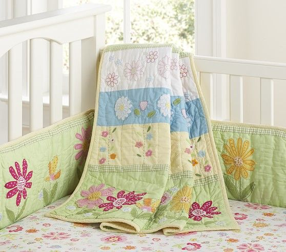 Daisy Garden Nursery Bedding Pottery Barn Kids Raye Pinterest And Rooms