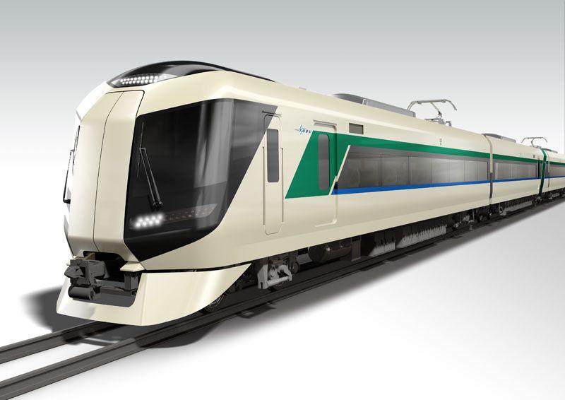 東武鉄道 新型特急車両500系 | KEN OKUYAMA DESIGN