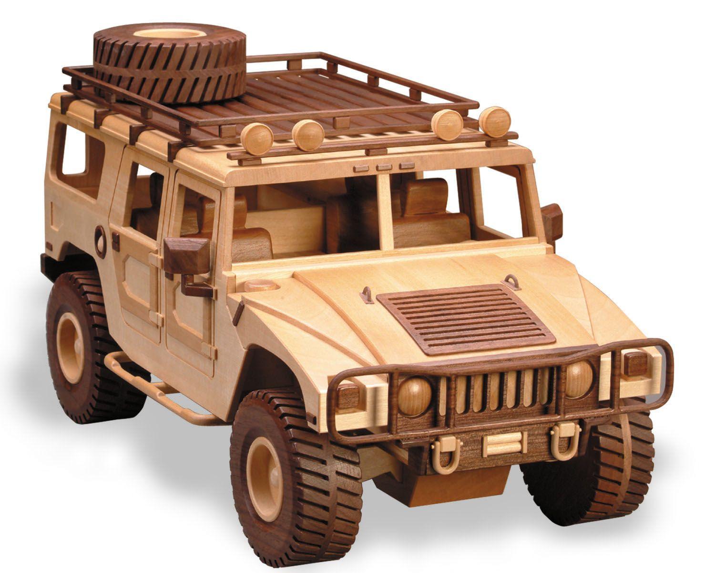 97 The Hummer Caminhoes De Brinquedo De Madeira Carro De