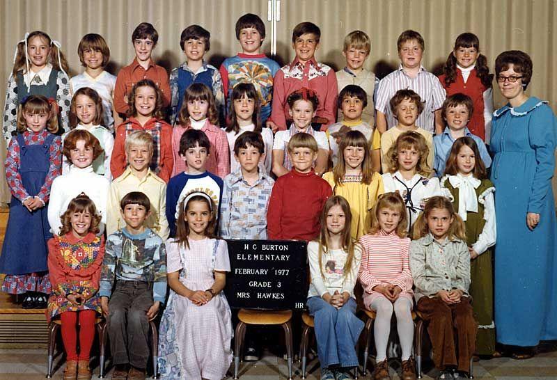 Burton elementary mrs hawkes 3rd grade 197677