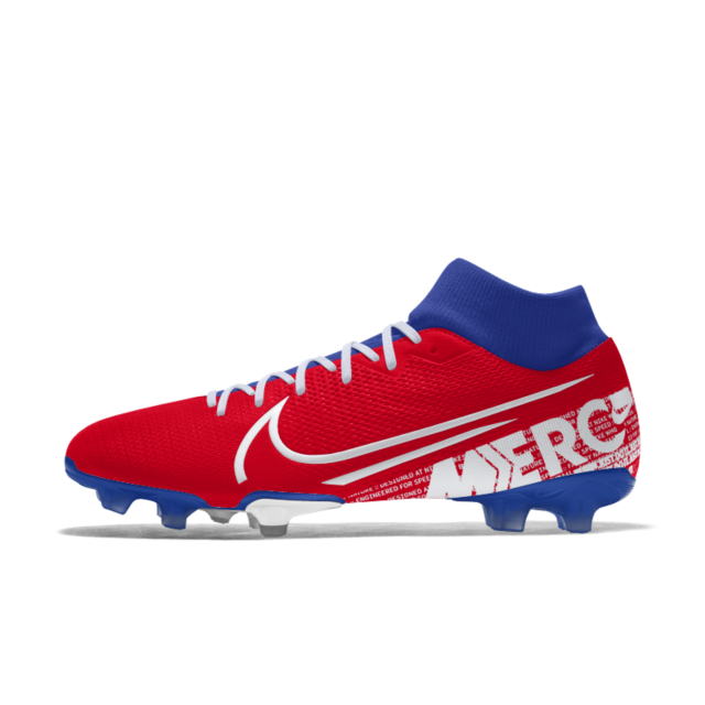 Mercurial Superfly 7 Academy Fg By You Custom Firm Ground Soccer Cleat Custom Soccer Cleats Soccer Cleats Superfly