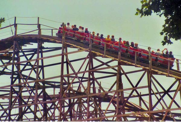 The Zippin Pippin-at what use to be Liberty Land....Elvis\' favorite ...