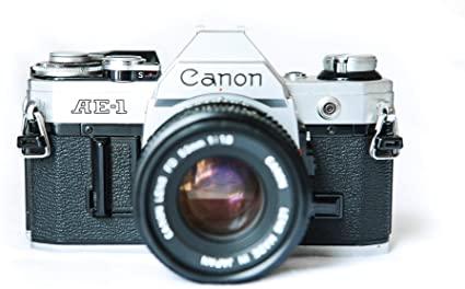 Amazon.com : Canon AE-1 35mm Film Camera w/ 50mm 1:1.8 Lens : Camera & Photo