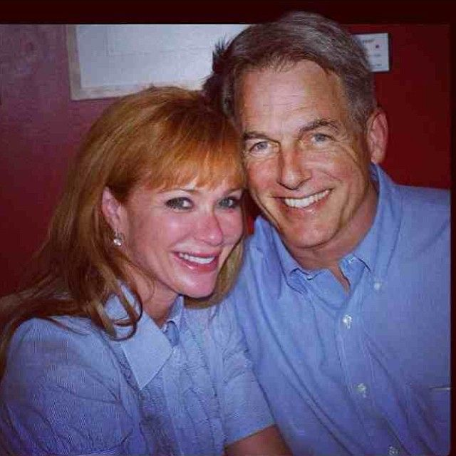 Photo de Lauren Holly  & son ami Mark Harmon