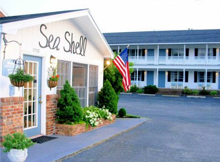 Sea Shell Motel Chincoteague Va Where We Stayed When The Kids