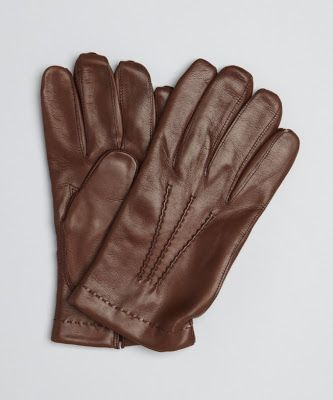 Real Leather Ladies /& Mens Bike GlovesMittens for Buttons Classic