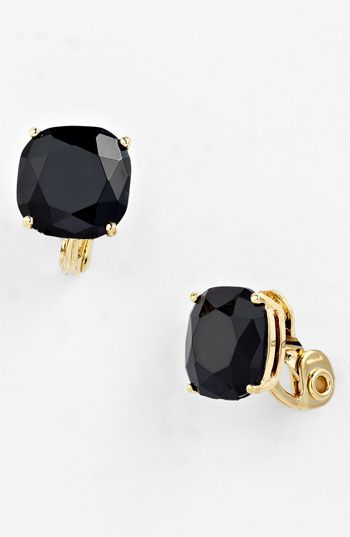 Kate Spade New York Cushion Clip Earrings Available At Nordstrom