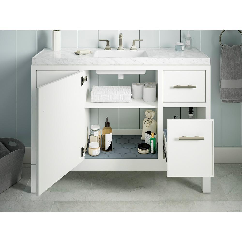 Kohler Rubicon 48 In Bath Vanity Single Basin Vanity Top In White