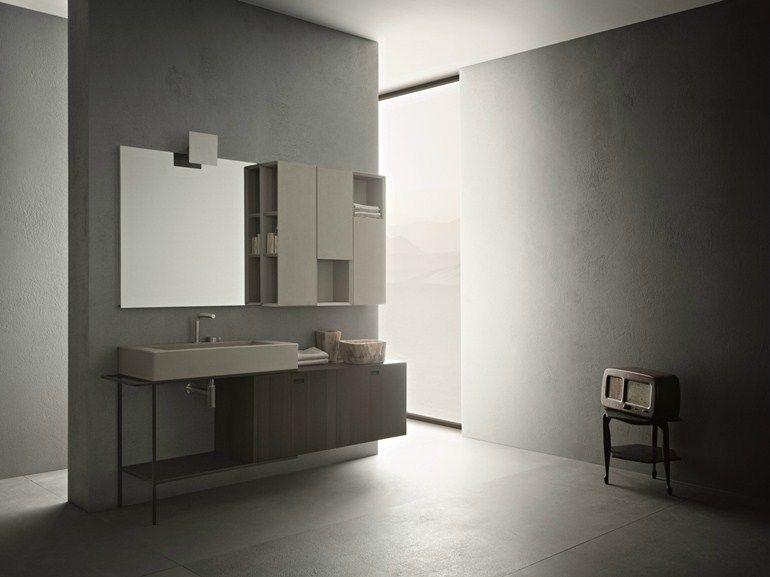 Arredo Bagno Completo Craft Composizione N05 By Novello Design