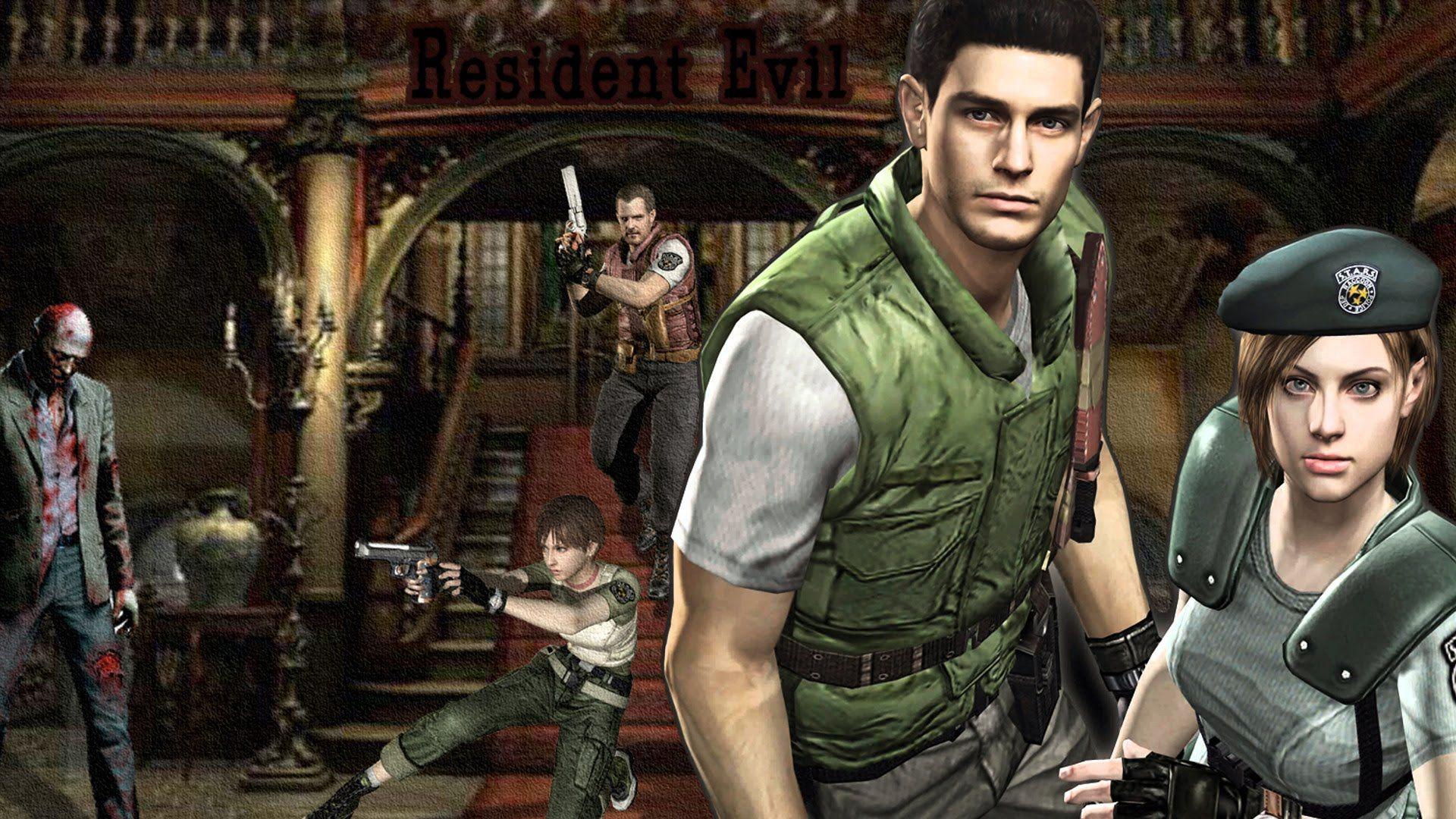Resident Evil HD Remake Resident evil, Resident evil