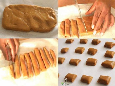 Milk Candy Popular In West Africa Mom Makes It Without The Extract I Love It When There Are Burnt Pieces In It Milk Toffee How Sweet Eats Tv Food